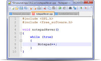 Notepad++ Download (Freeware) - kleiner aber mächtiger Texteditor - Notepad++, editor.